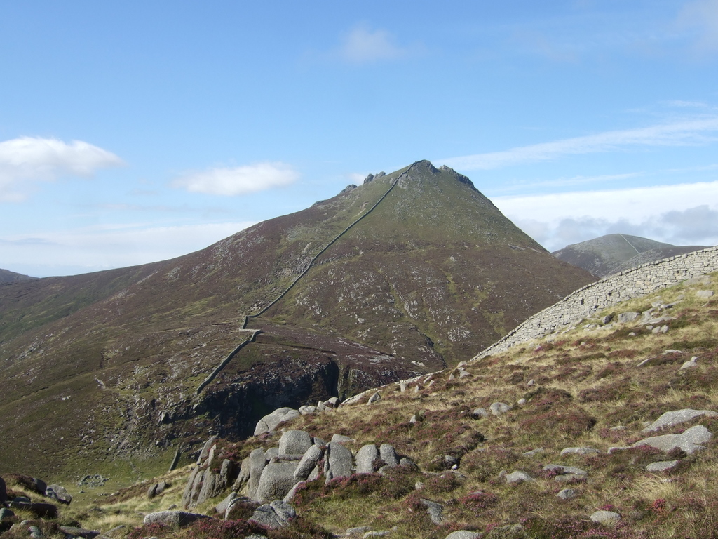 Slieve Bearnagh The Mourne Mountains